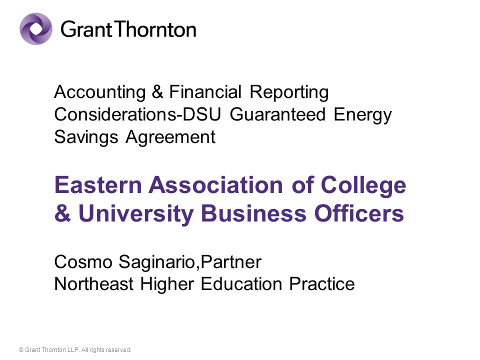 © Grant Thornton.All rights reserved.