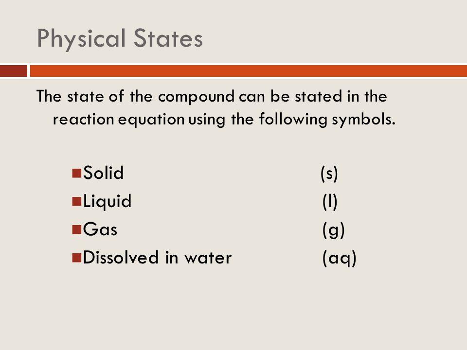 Reaction Types 2K + Cl 2 2KCl Fe 2 O 3 + 2Al Al 2 O 3 + 2Fe 2Mg + O 2 2MgO HNO 3 + NaOH H 2 O + NaNO 3 KBr + AgNO 3 AgBr + KNO 3 PbO 2 Pb + O 2