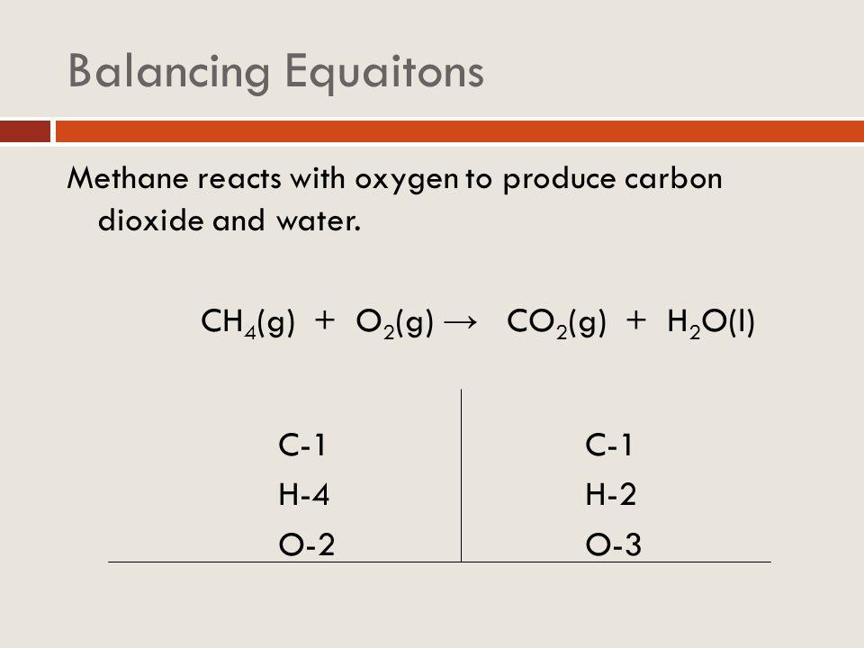 Balancing equations K + H 2 O H 2 + KOH NH 3 + O 2 NO + H 2 0 SiO 2 + HF SiF 4 + H 2 O CaC 2 + H 2 O Ca(OH) 2 + C 2 H 2