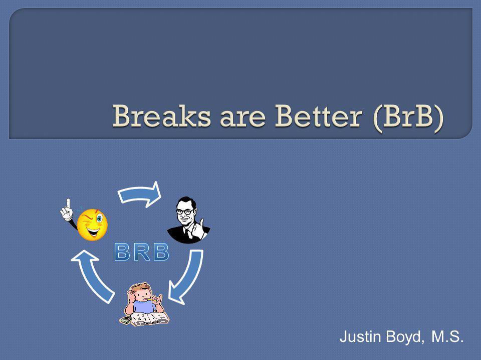 Justin Boyd, M.S.