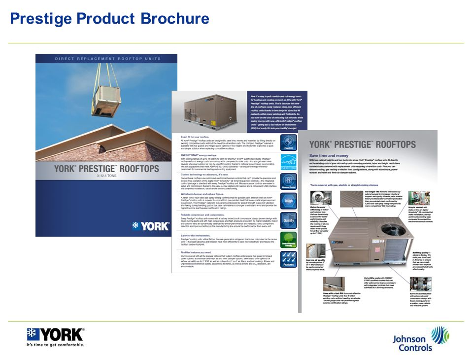 Prestige Product Details