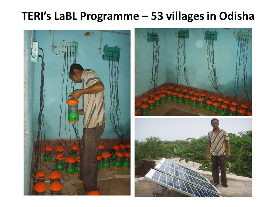 TERIs LaBL Programme – 53 villages in Odisha