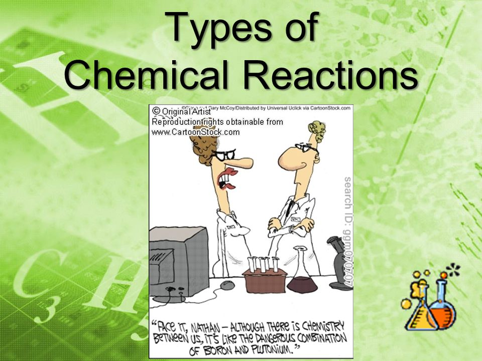 Combination Reaction *Also known as Synthesis A + B AB Putting together elements (or compounds) to make a compound.