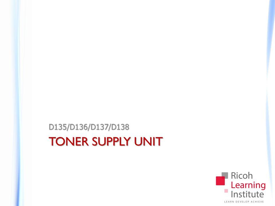 TONER SUPPLY UNIT D135/D136/D137/D138