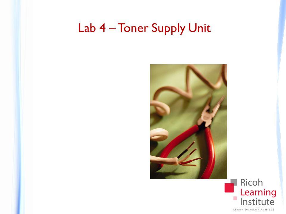 Lab 4 – Toner Supply Unit