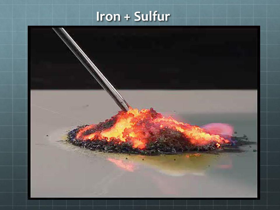 Iron + Sulfur