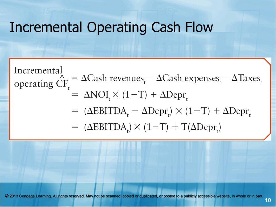 Incremental Operating Cash Flow 10