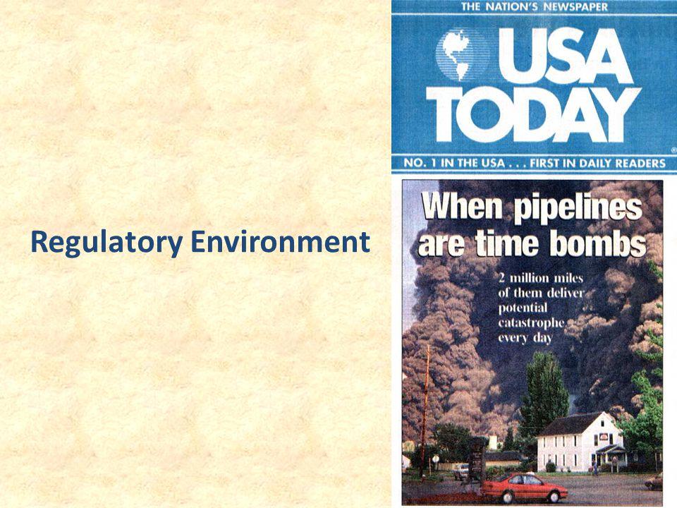 19 Regulatory Environment