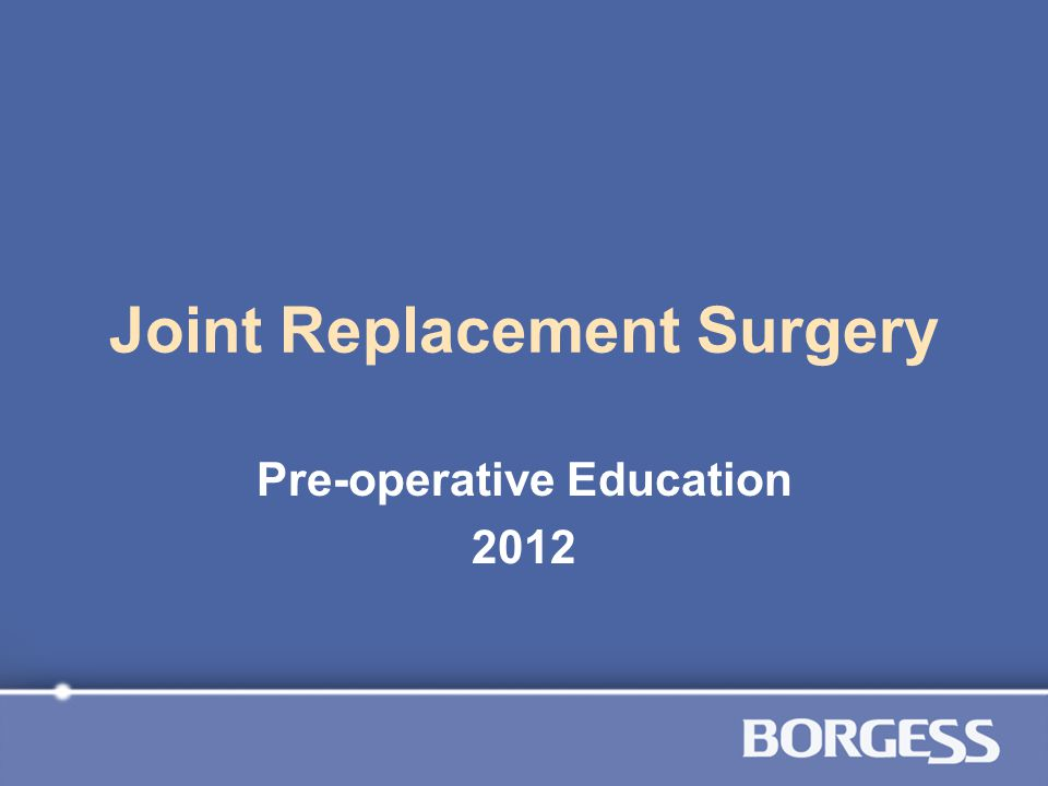 Objectives Prepare for the day of surgery Describe plan of care Learn how to prevent complications after surgery
