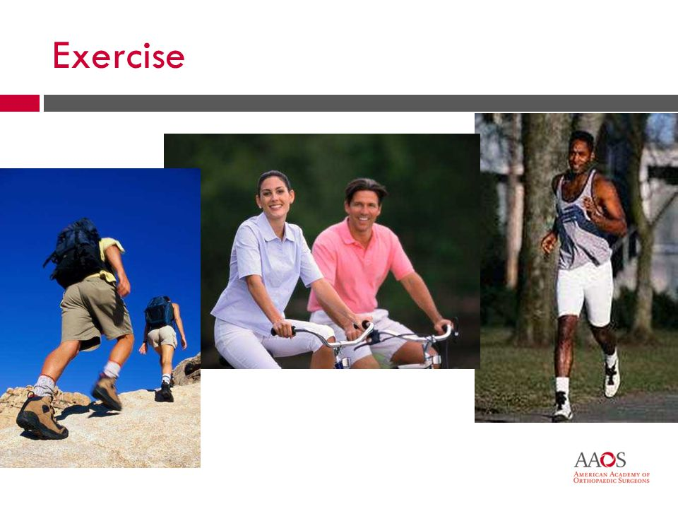 32 Exercise Strengthening exercises can help Correct positioning is critical 32
