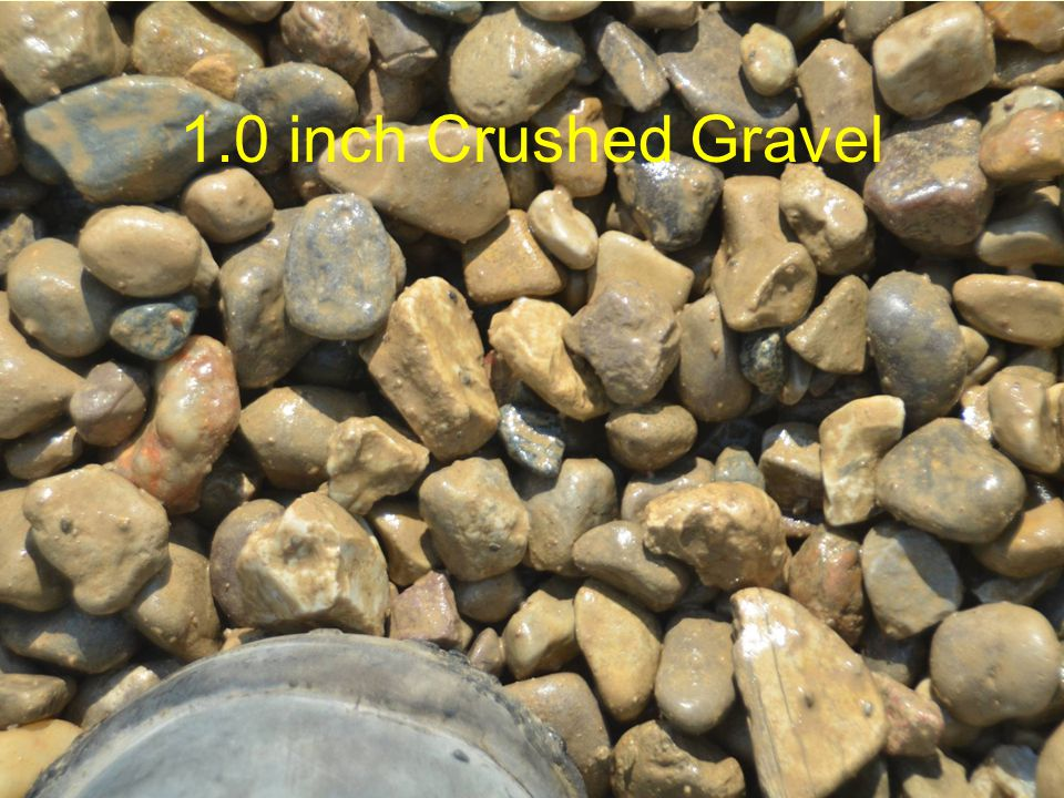 1.0 inch Crushed Gravel