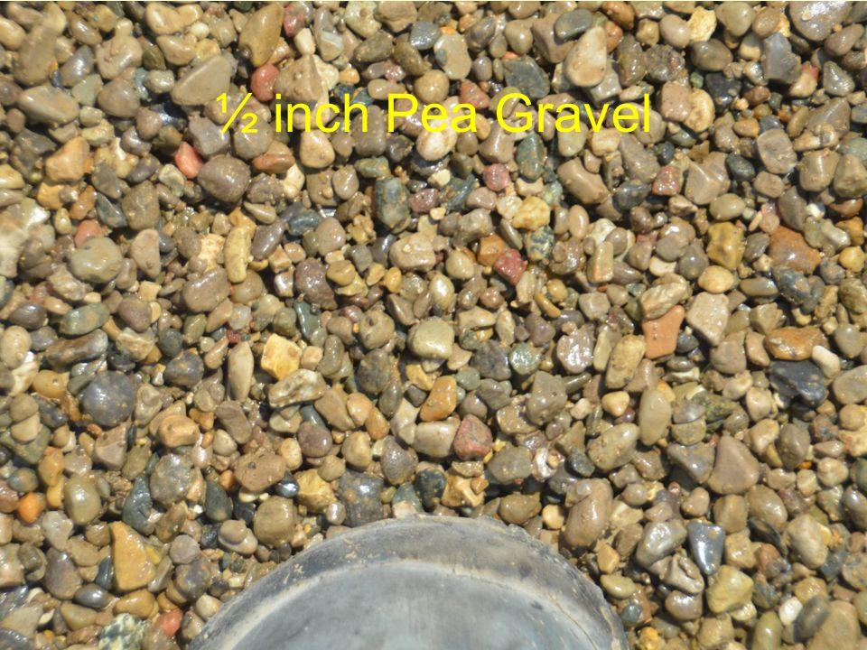 ½ inch Pea Gravel