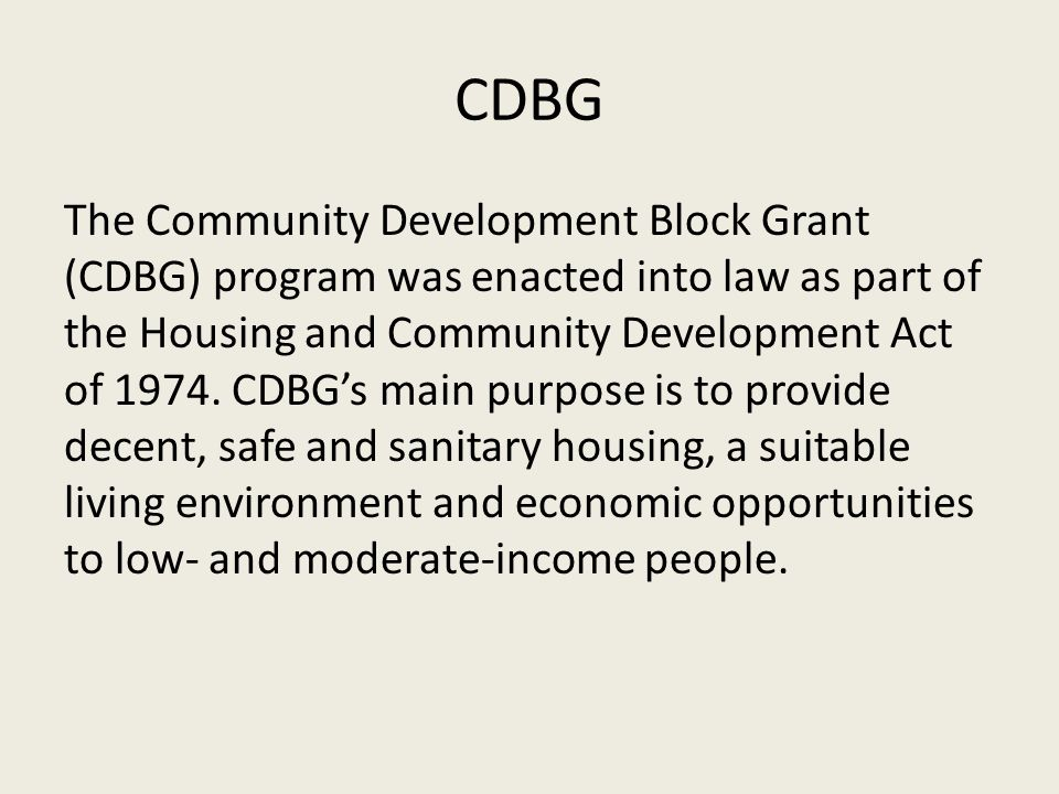 Other Parks Improved with CDBG Funds Veterans Park ImprovementsGreenhill Park Improvements