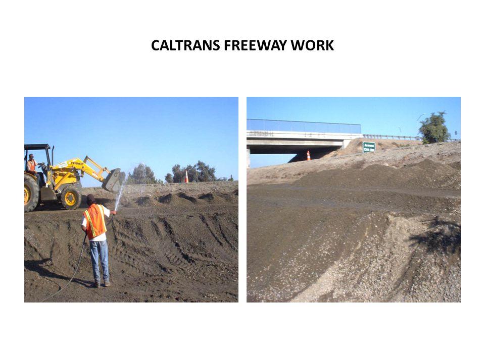 CALTRANS FREEWAY WORK