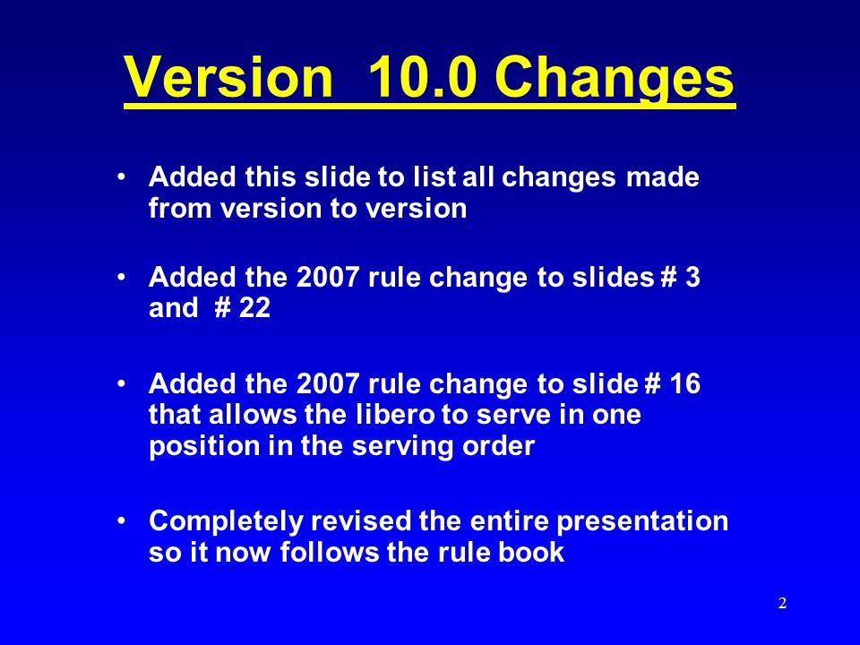 1 THE LIBERO Version 11 7 NOV 07