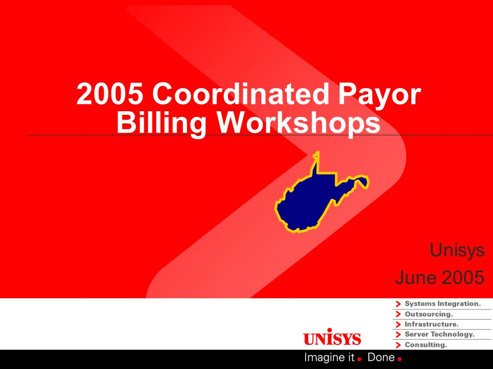 2005 Coordinated Payor Billing Workshops Unisys June 2005