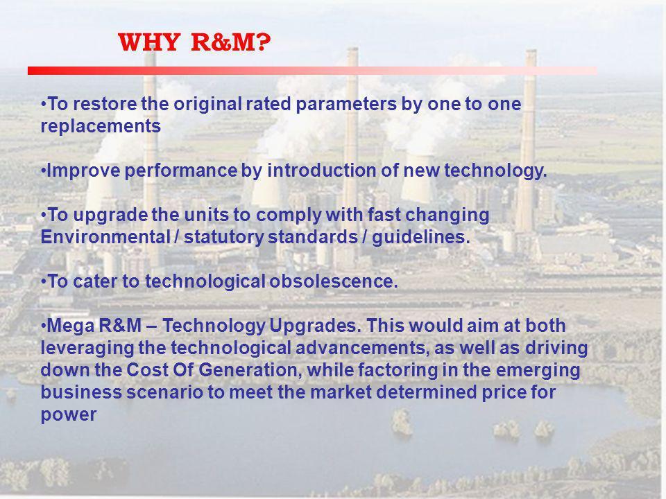 WHY R&M.