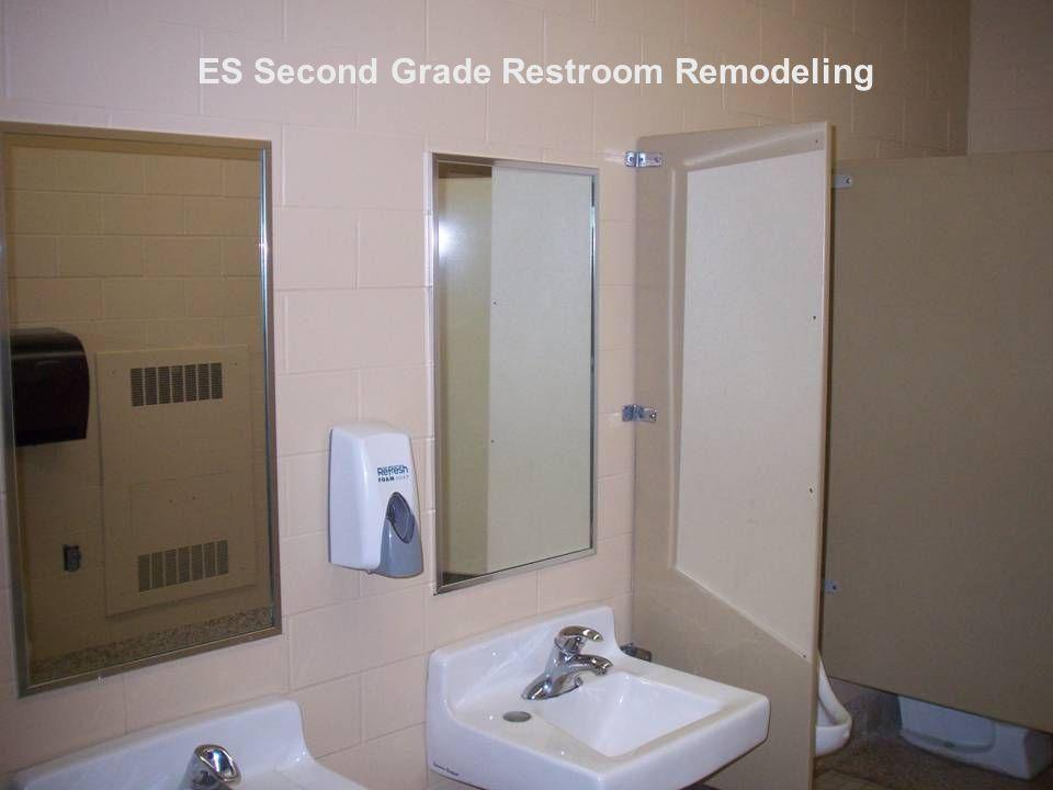 ES Second Grade Restroom Remodeling