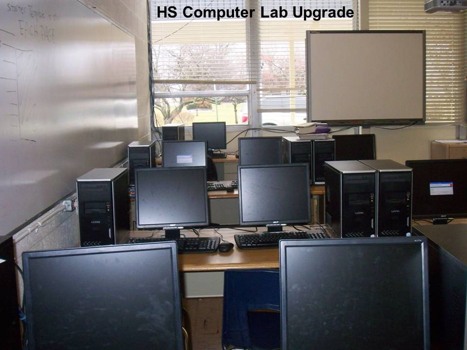 HS Computer Lab Upgrade