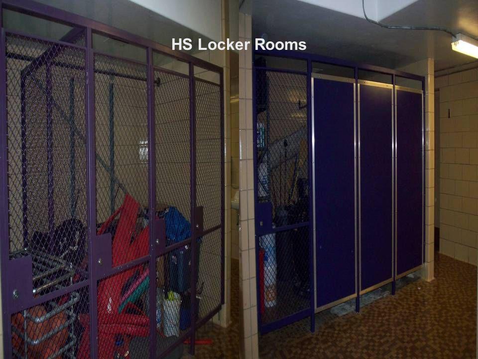 HS Locker Rooms