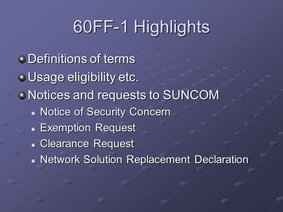 Definition: Sub-Network Network established by Customers within, or attached to, the broader State Network that is maintained by SUNCOM.