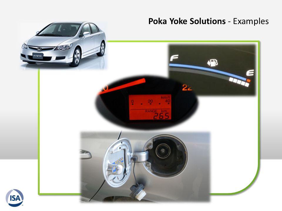 Poka Yoke Solutions - Examples
