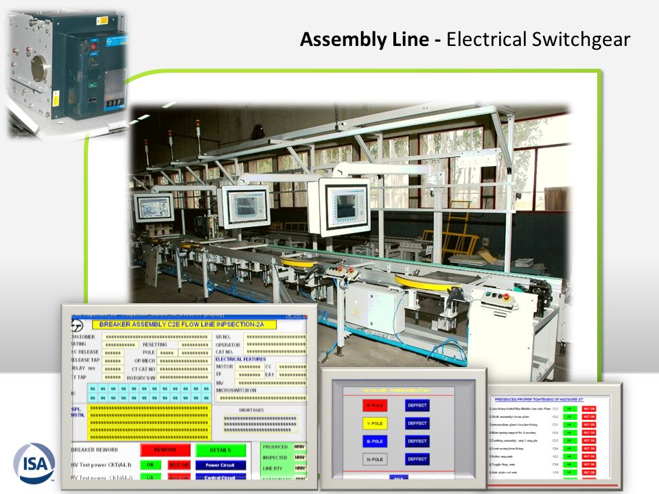 Assembly Line - Electrical Switchgear