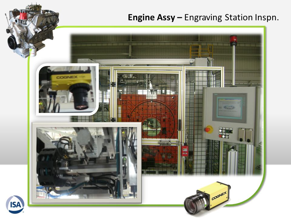 Engine Assy – Engraving Station Inspn.
