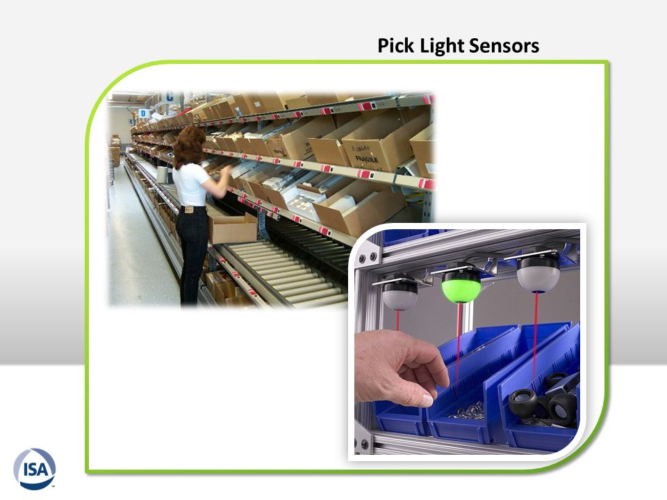 Pick Light Sensors
