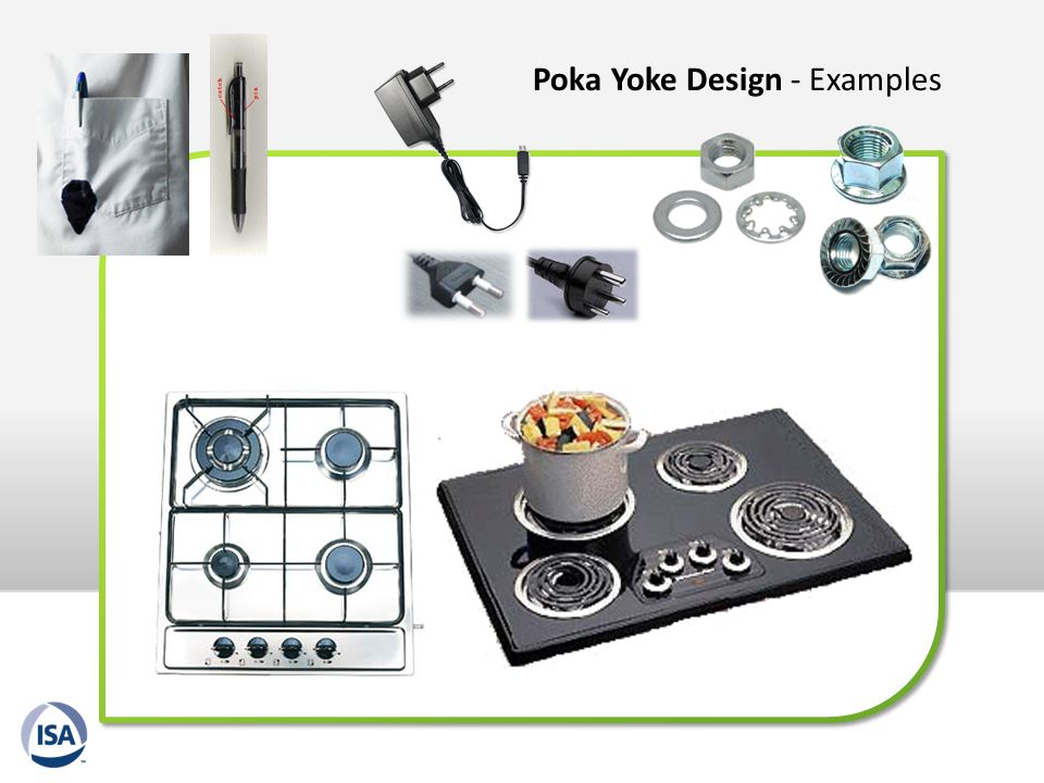 Poka Yoke Design - Examples