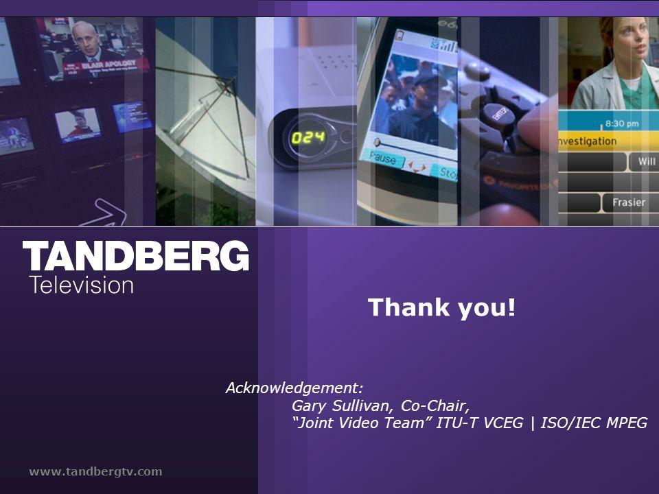 www.tandbergtv.com Thank you.