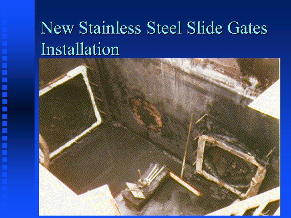 New Stainless Steel Slide Gates Installation