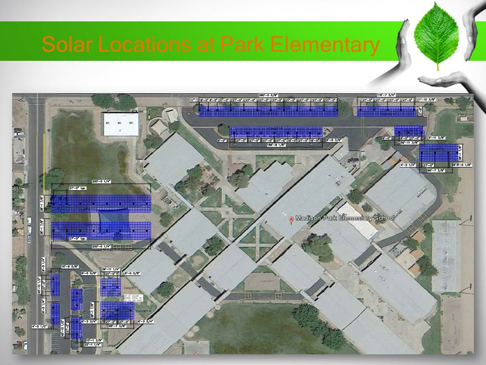 Solar Locations at Park Elementary
