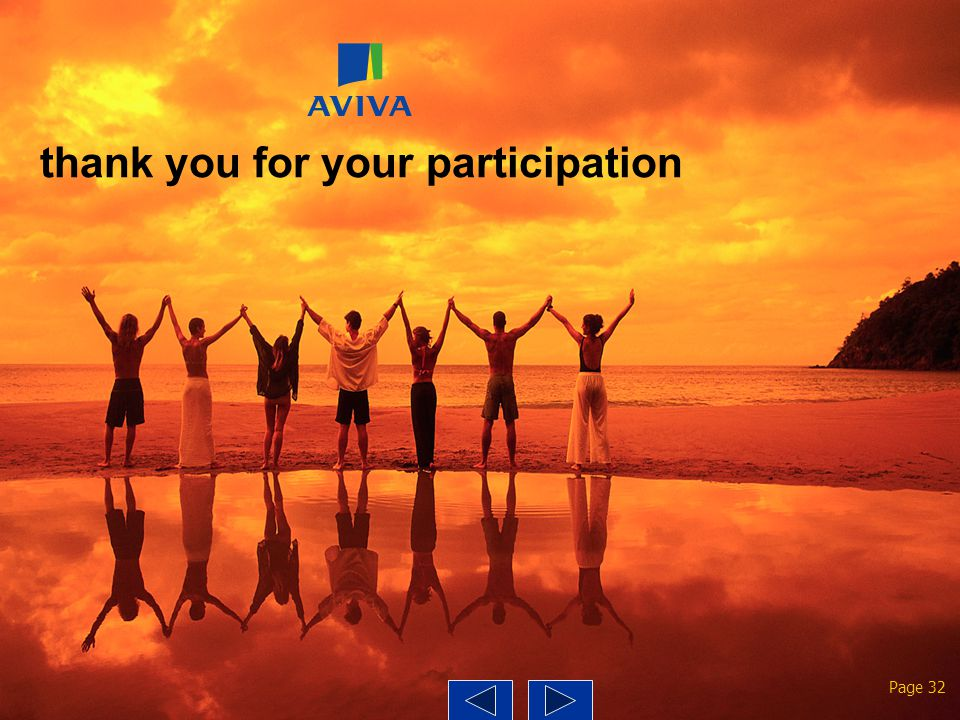 thank you for your participation Page 32