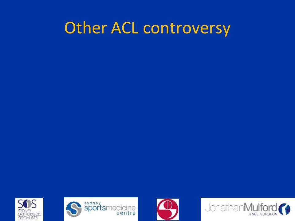 Other ACL controversy