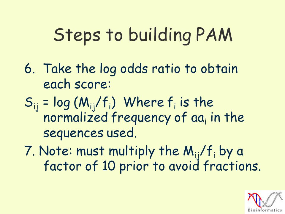 Steps to building PAM 6.