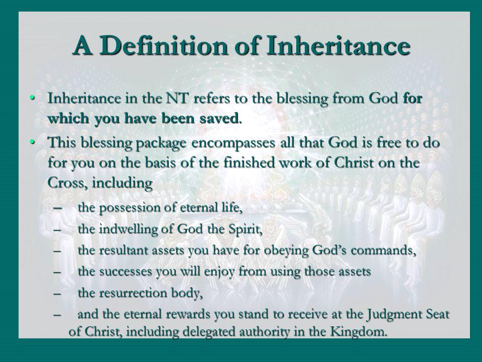 Categories of Inheritance 1.