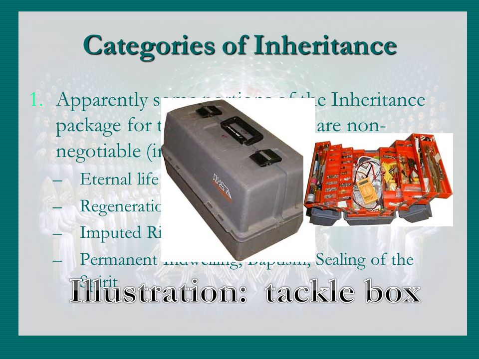 Categories of Inheritance 1.