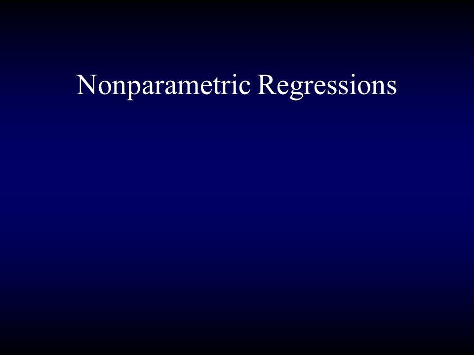 Nonparametric Regressions