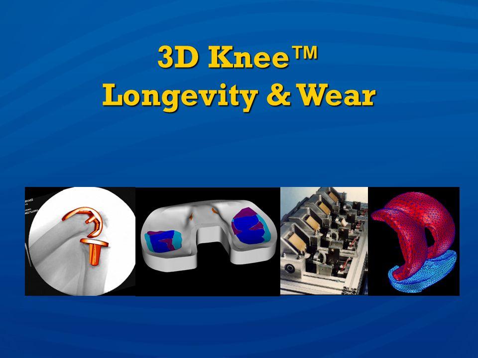 3D Knee Longevity & Wear