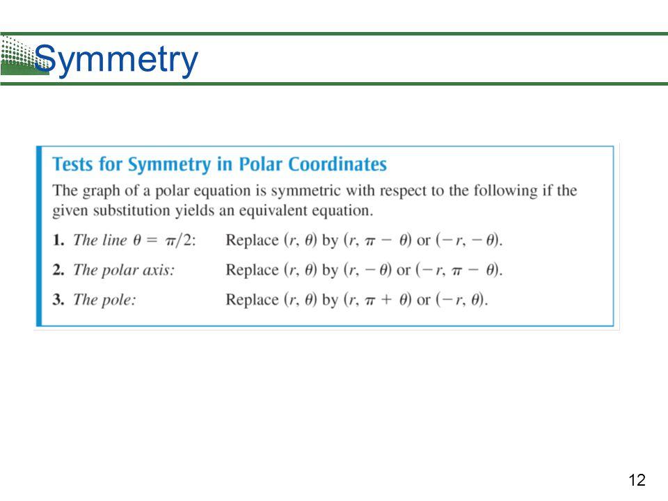 12 Symmetry