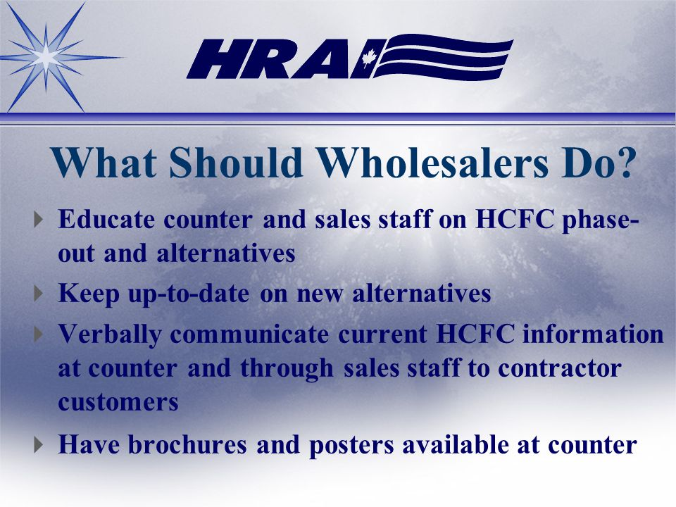 What Should Wholesalers Do.