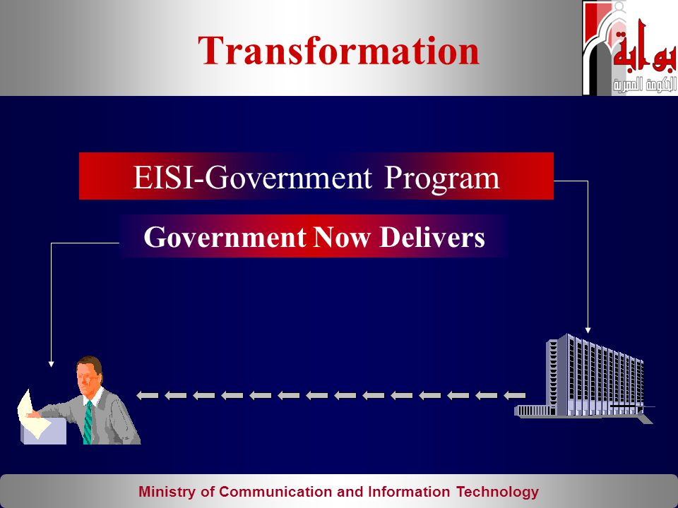 Ministry of Communication and Information Technology Government Now Delivers EISI-Government Program Transformation