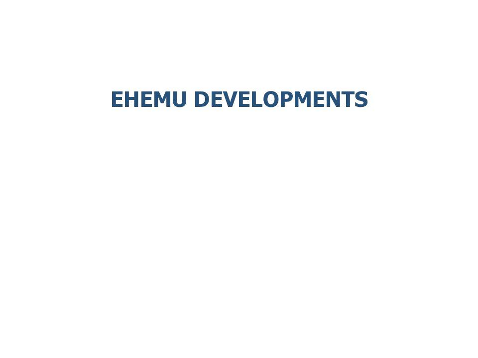 EHEMU DEVELOPMENTS