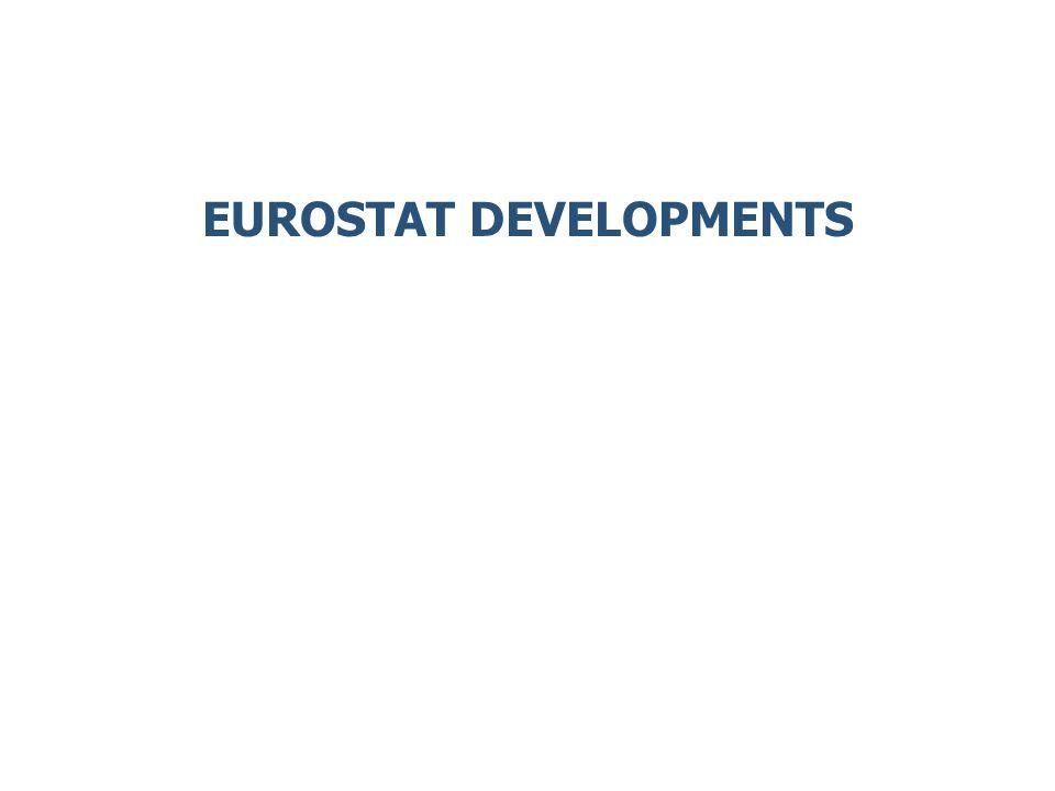 EUROSTAT DEVELOPMENTS