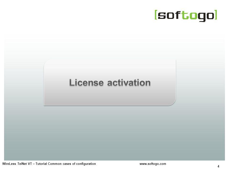 4 WireLess TelNet VT – Tutorial Common cases of configuration www.softogo.com