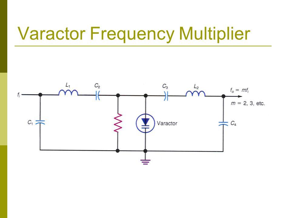 Varactor Frequency Multiplier