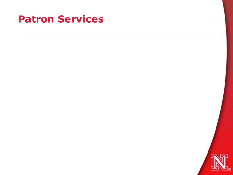 Patron Services