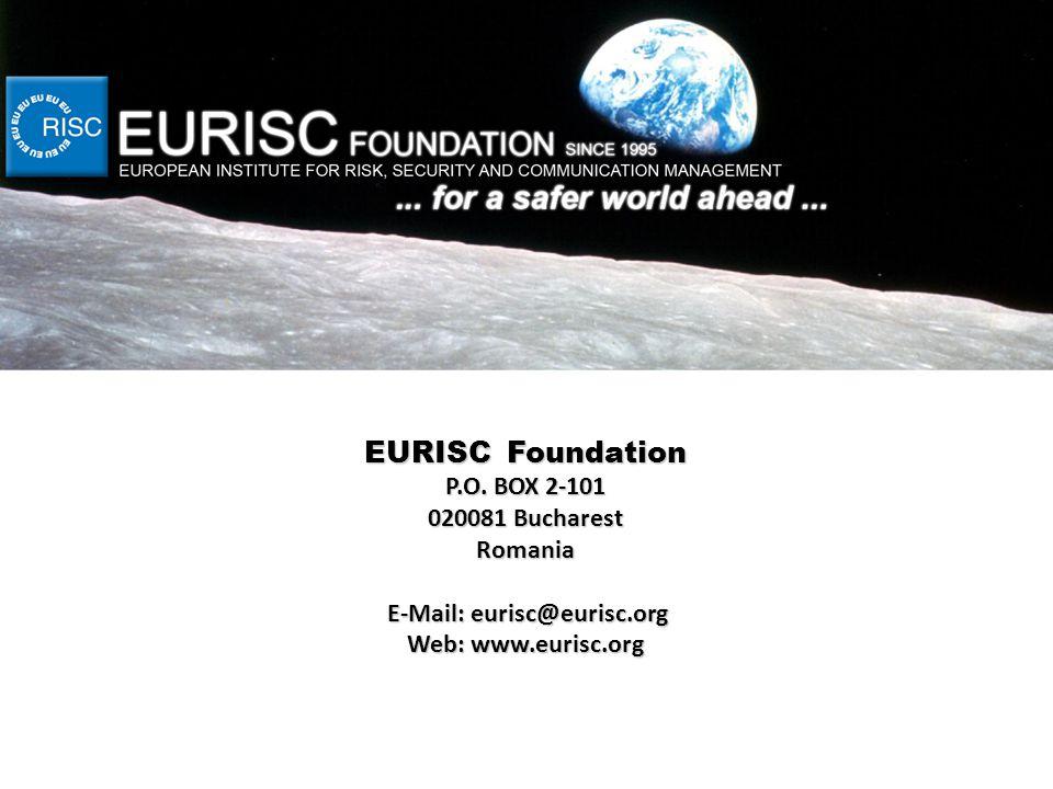 EURISC Foundation P.O.