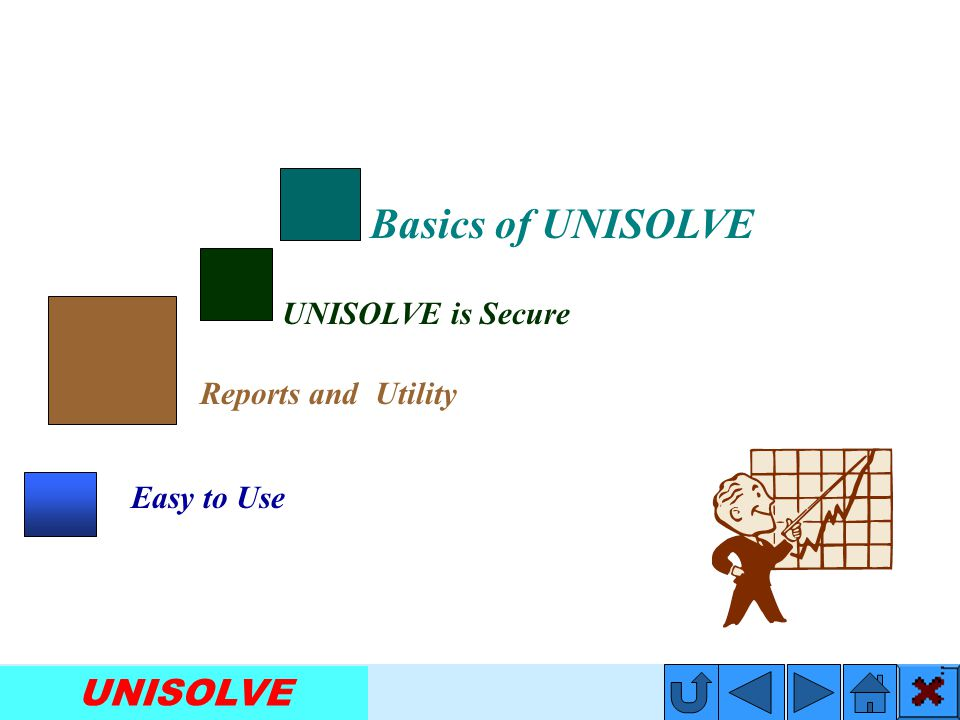 UNISOLVE Security Disk is very important tool & it gives you extra protection for your data.